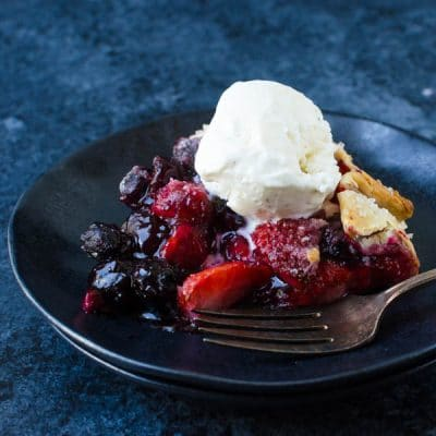 Heavenly Mixed Berry Galette