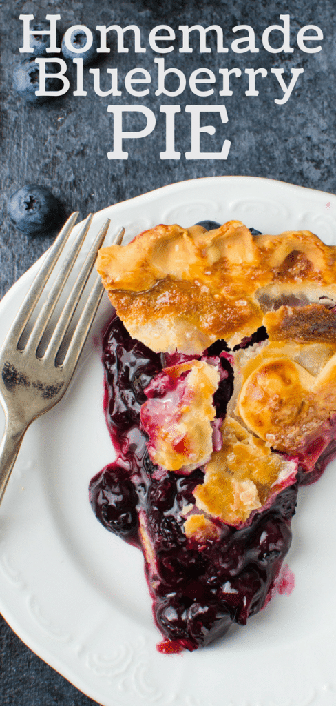 Looking for an easy blueberry pie recipe? Get the secret ingredient that makes homemade blueberry pie foolproof and tips for the best bluebery pie ever. #blueberrypie #homemadeblueberrypie #bestblueberrydesserts #easyblueberrypierecipe #blueberries #fruitpie #summerpie #berrypie #instantclearjel #piecrusttips #howtorolloutpiedough #summerdesserts #blueberrydesserts #pie #easypierecipe #freshblueberries #vegetariandessert