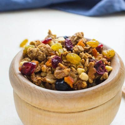 Naturally Sweetened Crunchy Granola