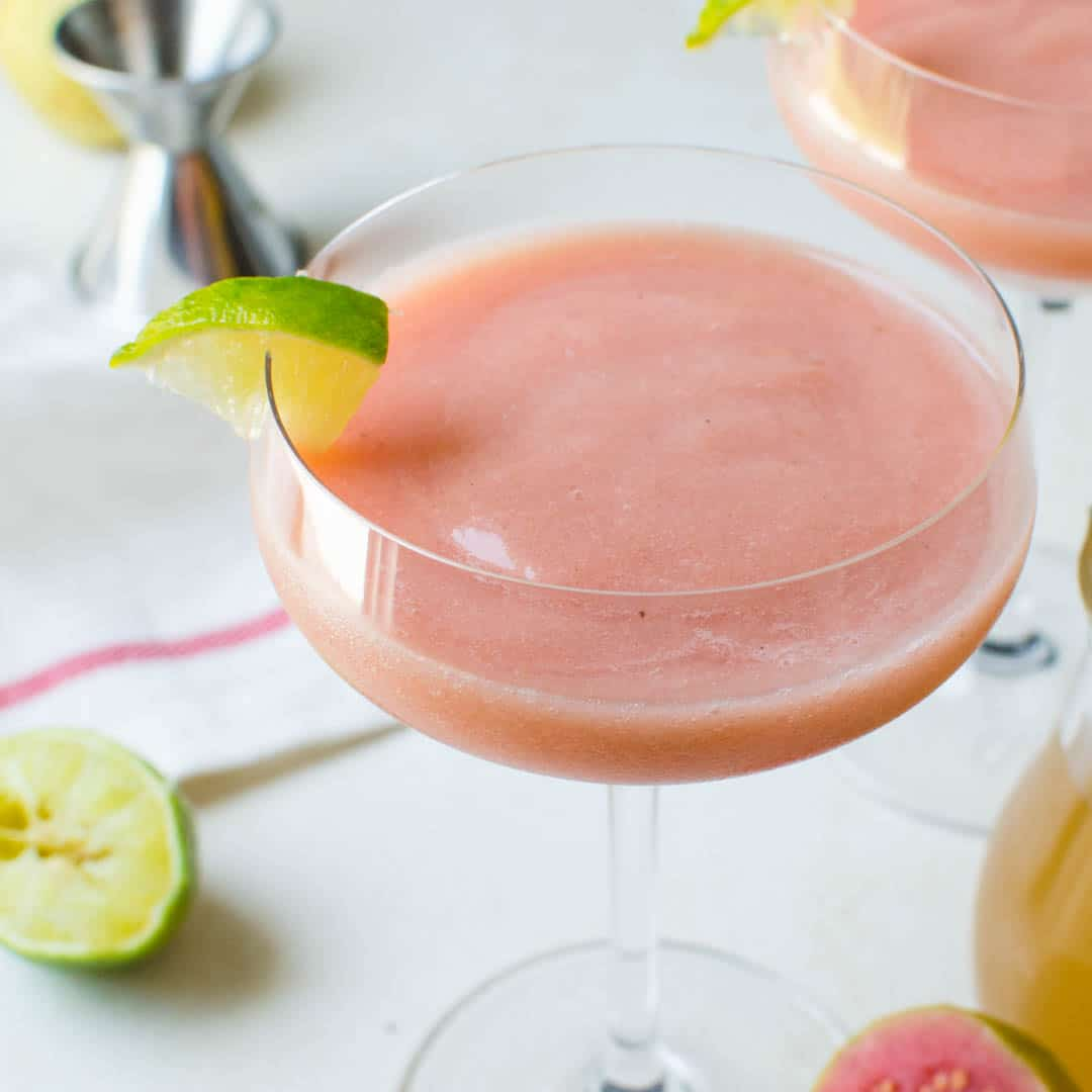 Guava Banana Rum Daiquiris