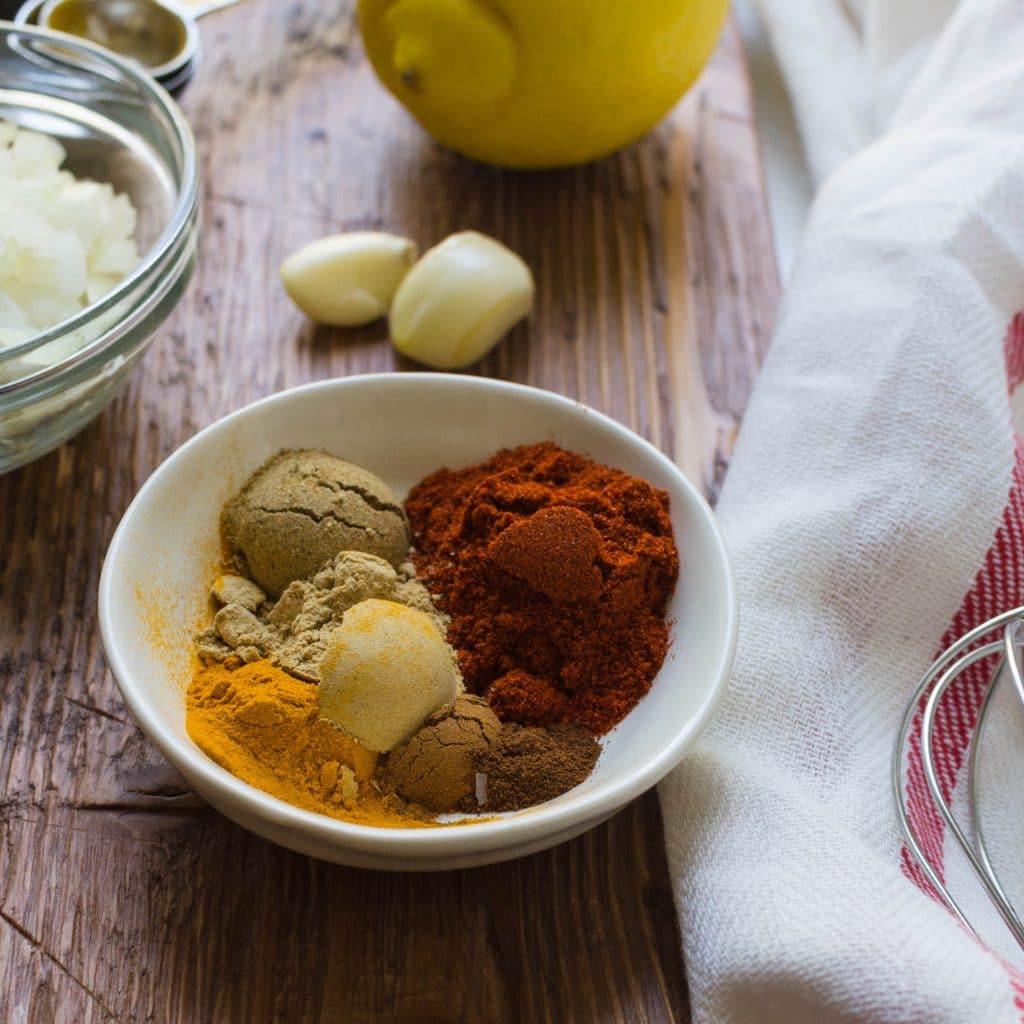 spices for tandoori marinade