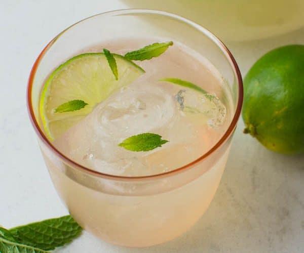 Guava Limeade Summer Mocktail