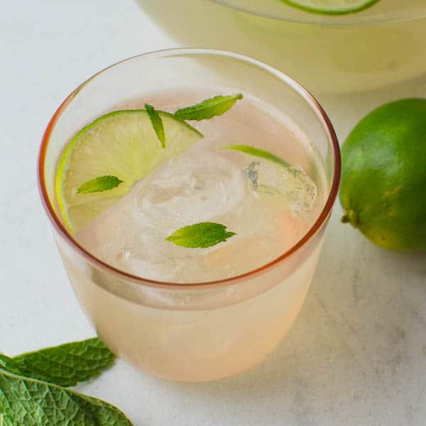 Guava Limeade Summer Mocktail