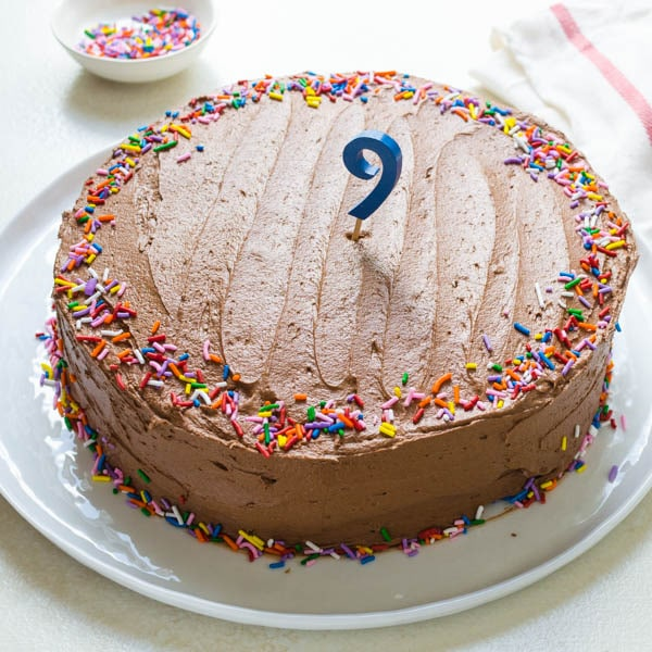 the best homemade birthday cake recipe.
