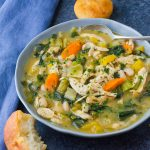 Easy Chicken Stew with Fall Vegetables.