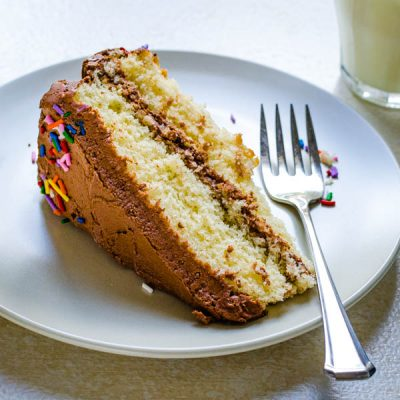 Myne's Easy Yellow Cake Recipe