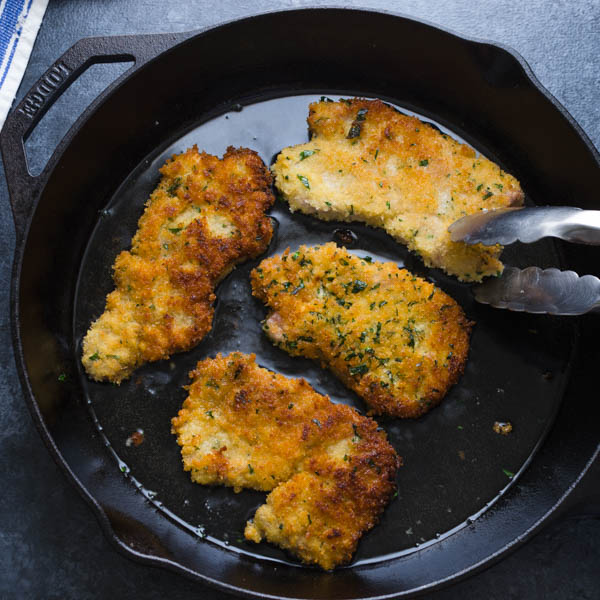 Breaded Pork Cutlets, one of the best pork recipes.