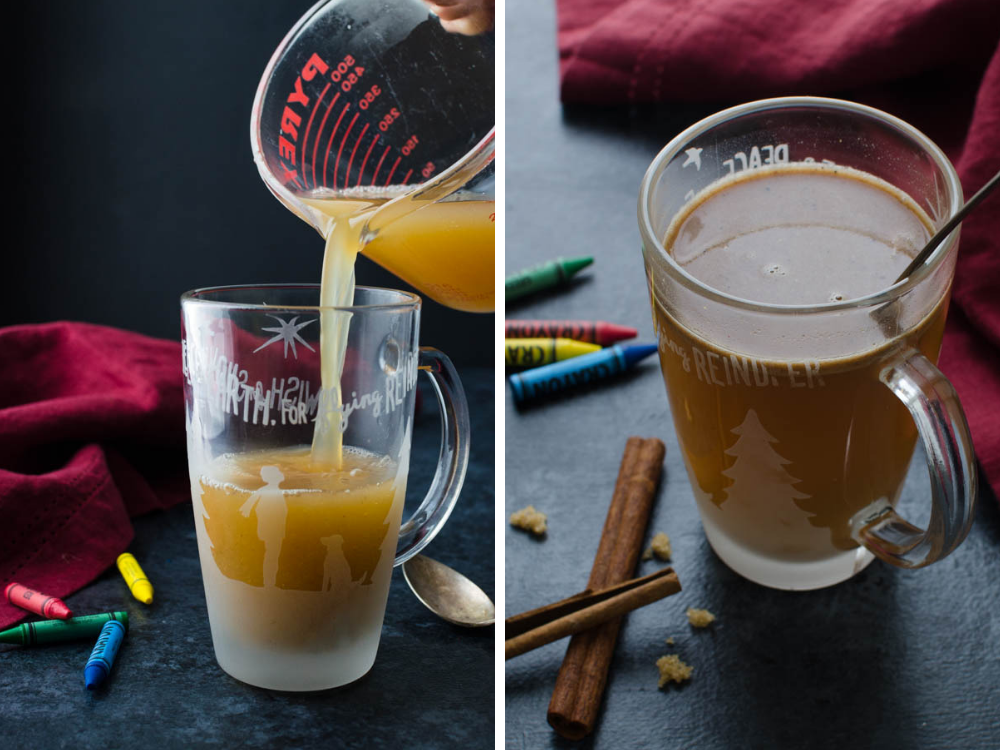 Mocktail - Cider Hot Buttered Rum