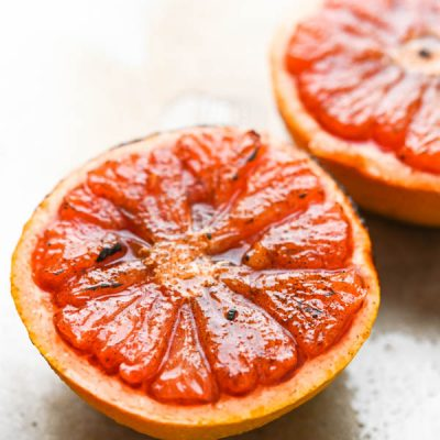 Sugar n' Spice Broiled Grapefruit