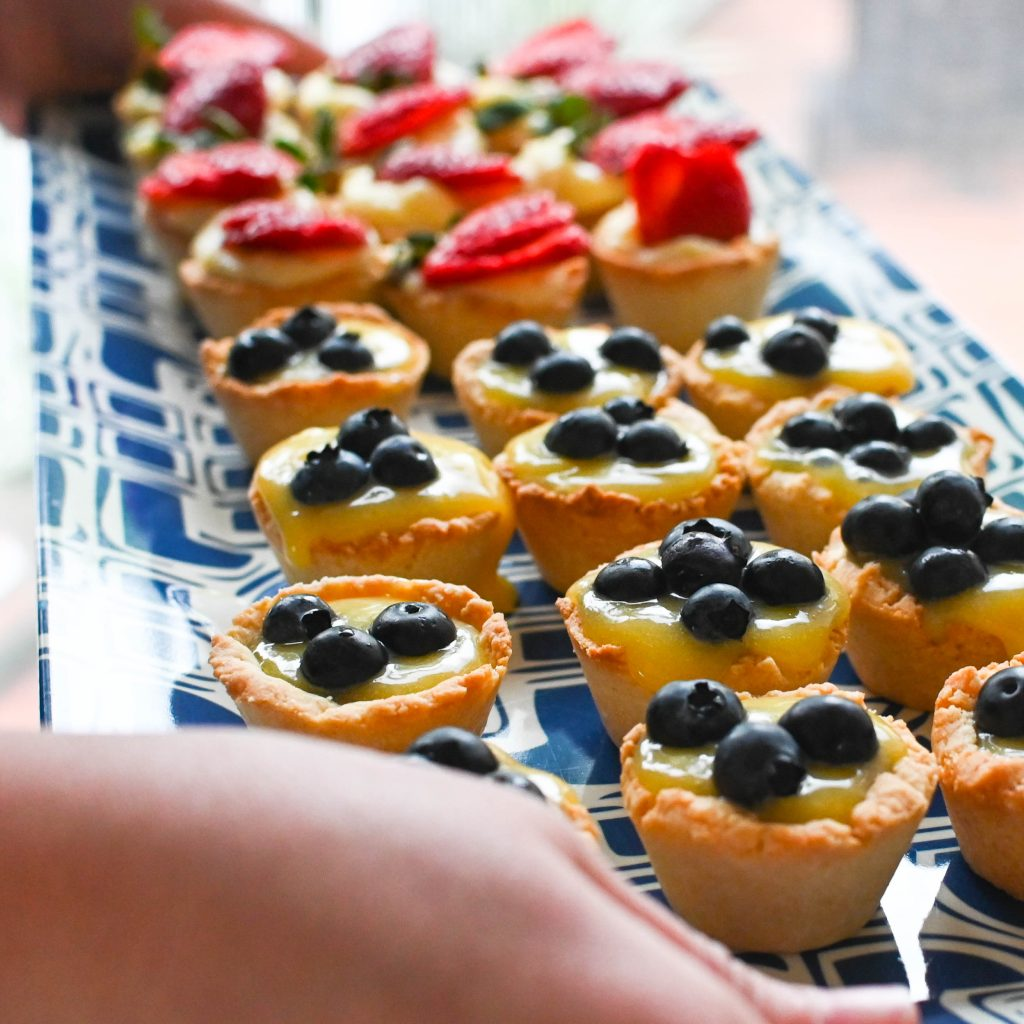 calamondin fruit tarts from our Thanksgiving dinner.