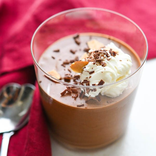 Luscious Amaretto Chocolate Mousse