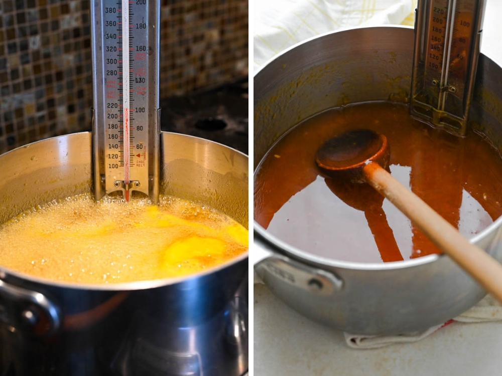 cooking the citrus marmalade to 220° using a candy thermometer. You'll need other canning tools for this recipe, too.