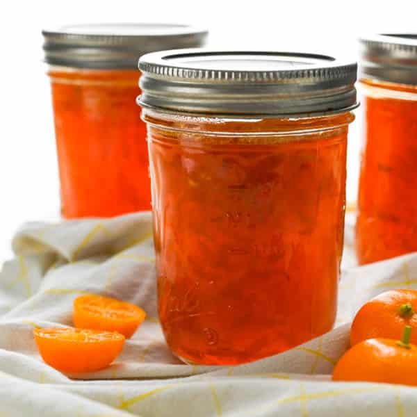 jars of canned calamansi lime marmalade.