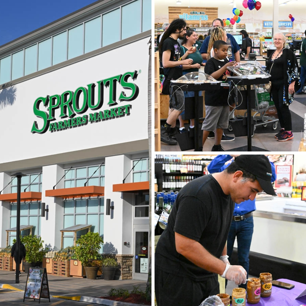 Photos from Sprouts grand opening.