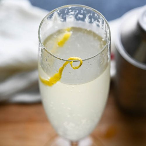 French 75 - with Gin