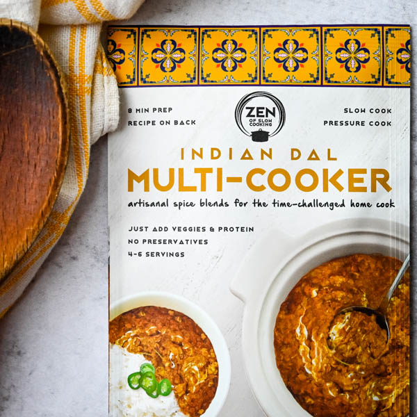 Indian Dal spice packet from Zen of Slow Cooking.