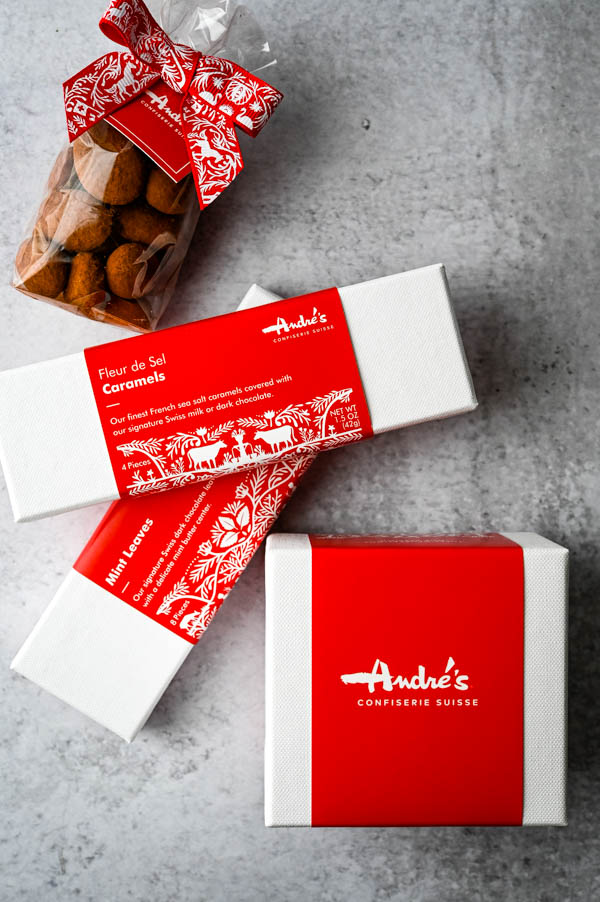 A variety of chocolates from Andre's will be featured at the Summer Fancy Foods Show.