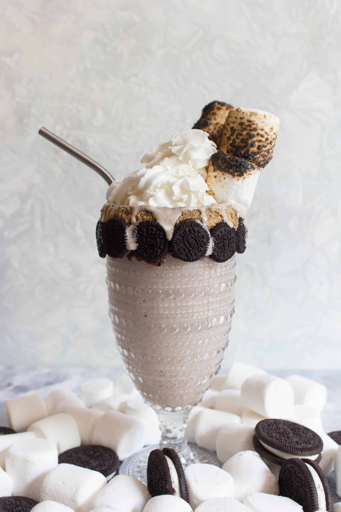 toasted marshmallow milkshake.