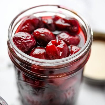 Amazing Vanilla Bean Pickled Cherries