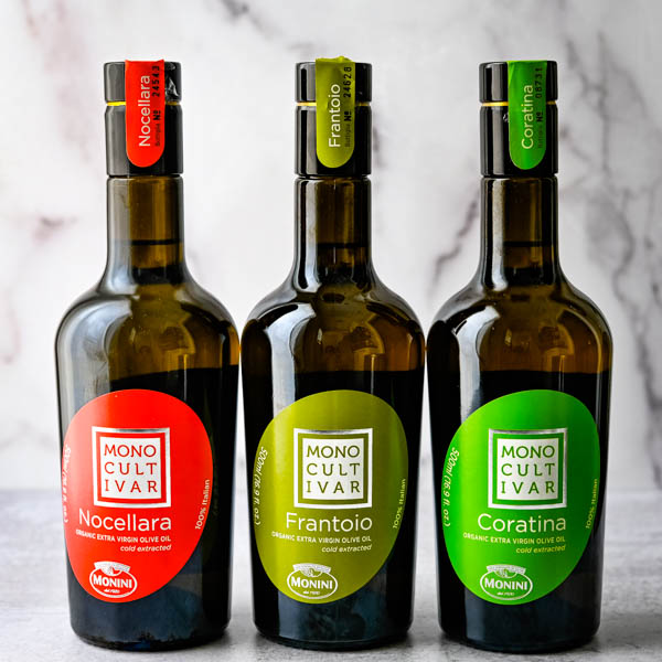 Monocultivar Olive Oils are favorite Food Finds from the show.