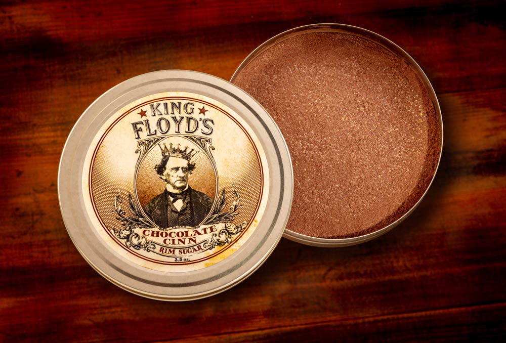 sugar your rim with Chocolate Cinn from King Floyd's another new food trend.