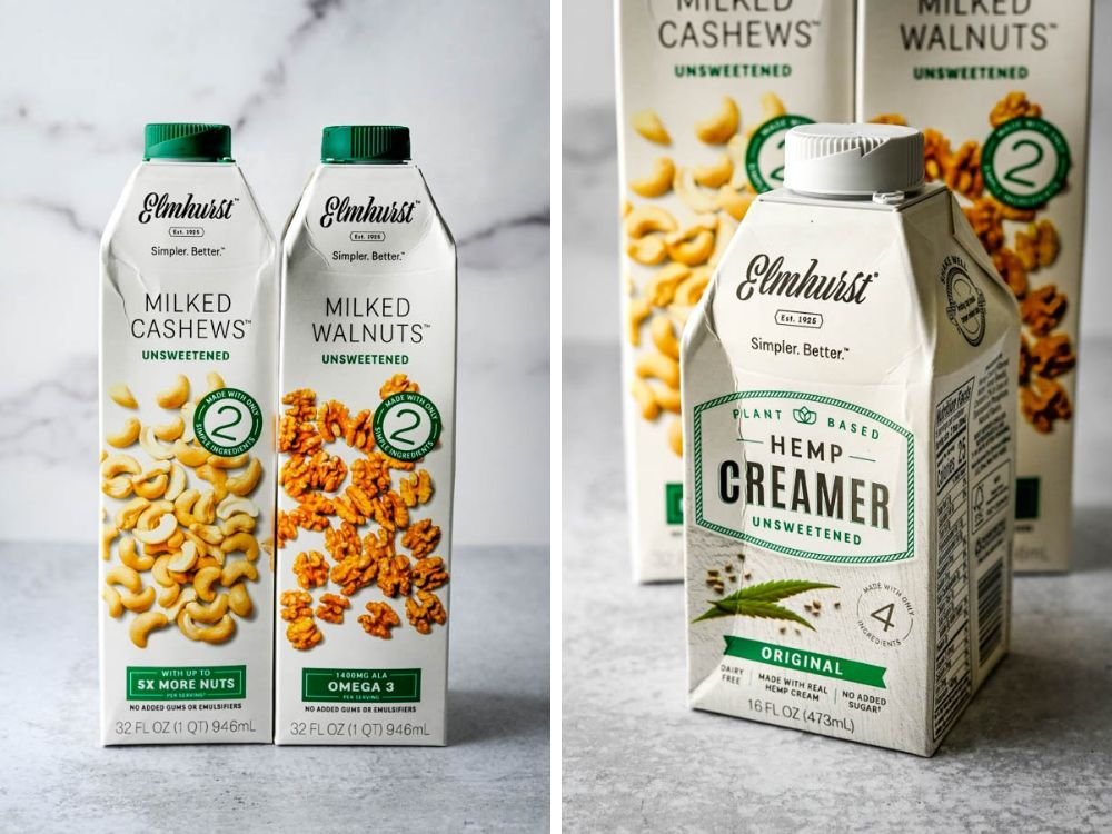 Elmhurst nut milks and hemp creamers another healthy food fad.