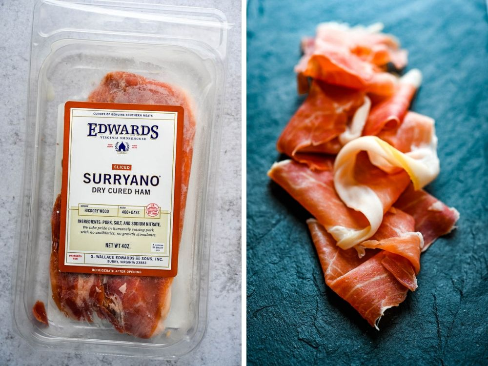 Surryano ham is cured Virginia ham, in 2019 Food trends.