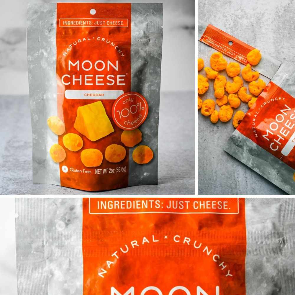 Moon cheese is a crunchy dried cheese in the new Food Fads category.