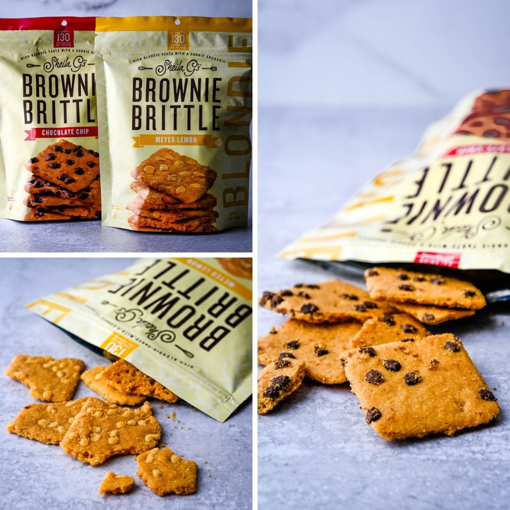 Brownie Brittle is a trade show staple and these Blondie Brittles are thin and crisp right from the bag.
