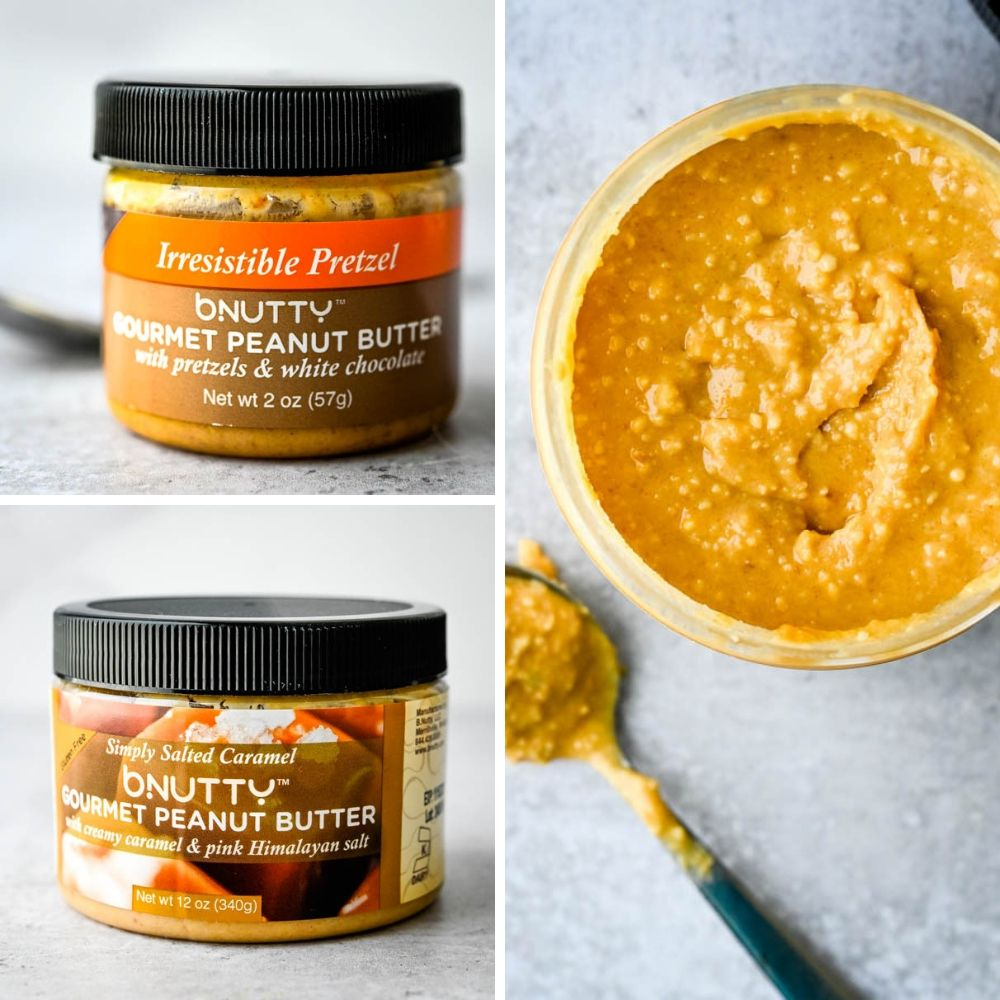 bNutty is awesome gourmet peanut butter sampled at the Summer Fancy Food Show.