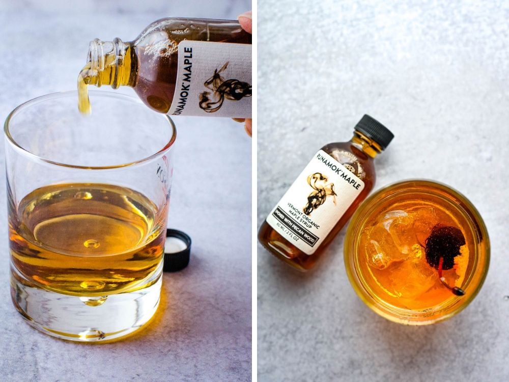 Adding smoked maple syrup to a cocktail - more food fads from the trade show.
