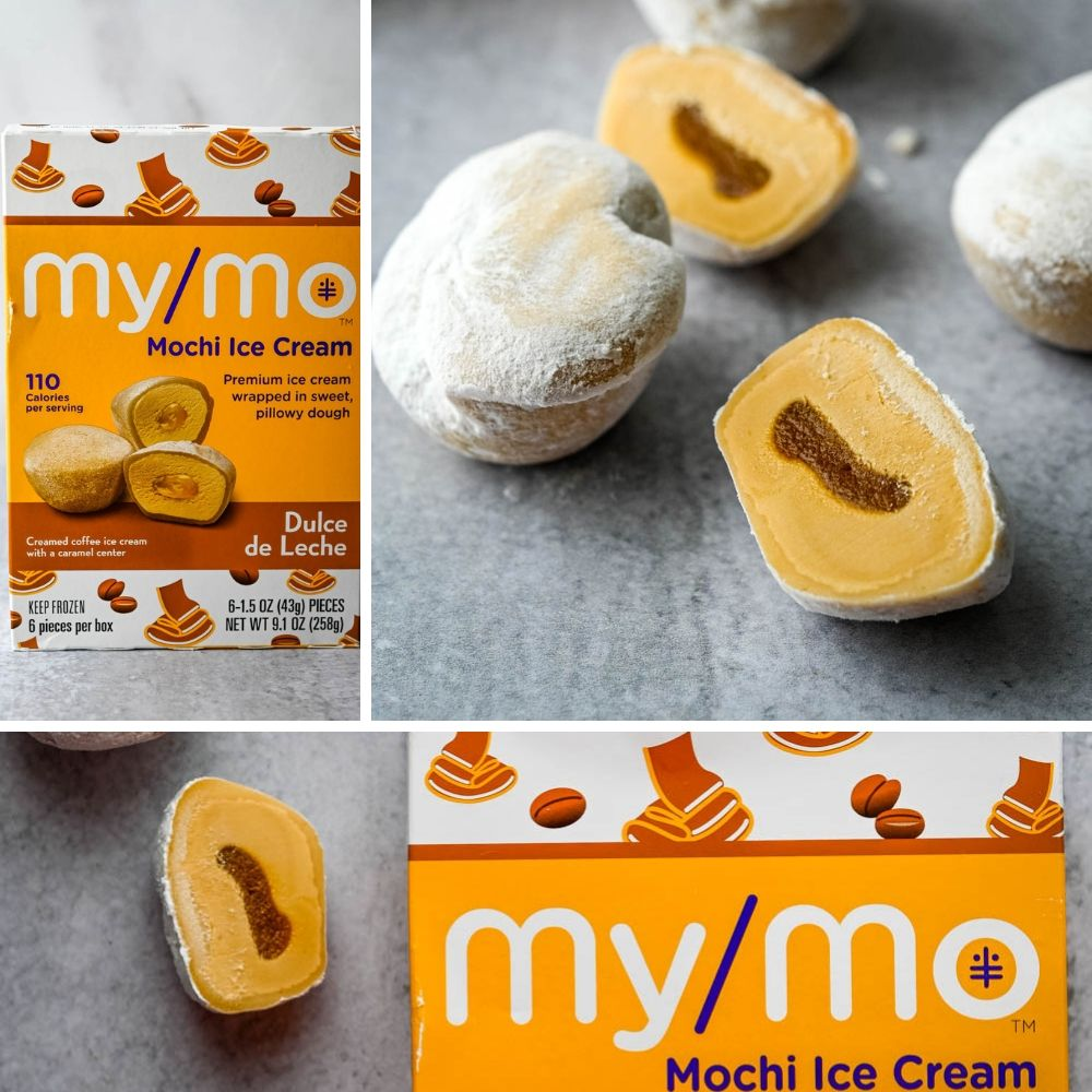 2019 Food Trends - Salted Caramel Mochi Bites