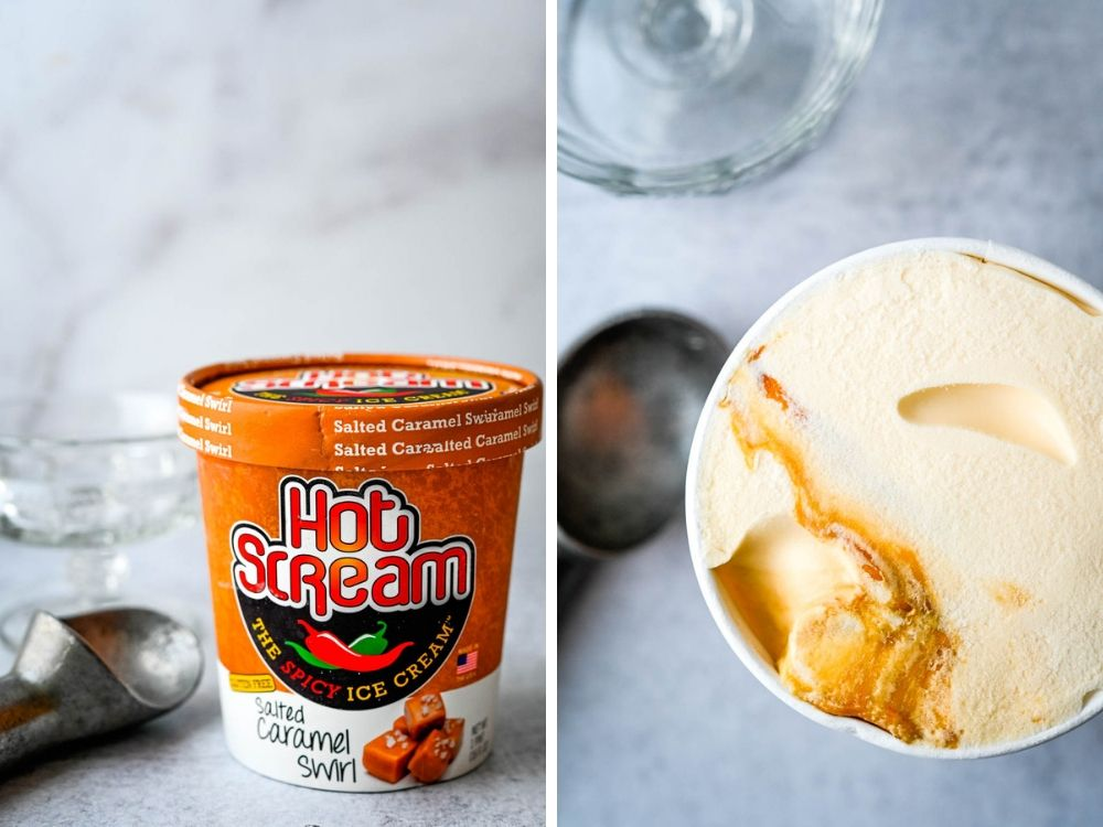 hot ice cream - favorite dessert food finds.
