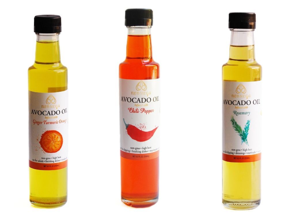 Flavored Avocado Oils For cooking.