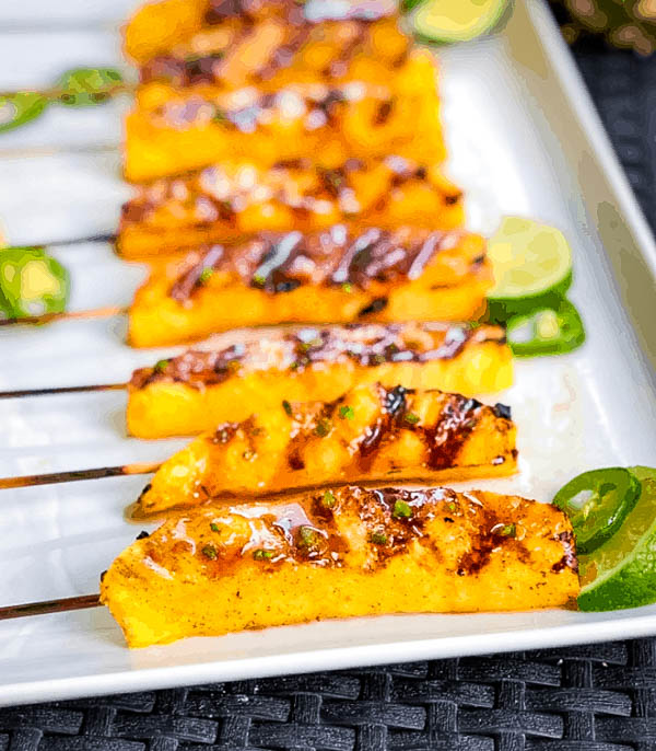 jalapeno pineapple slices