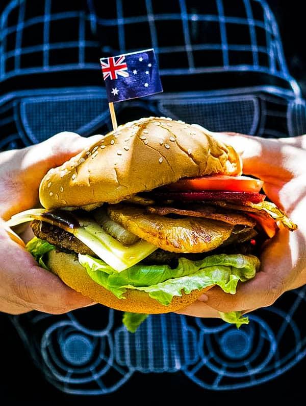 Almighty Aussie Burger