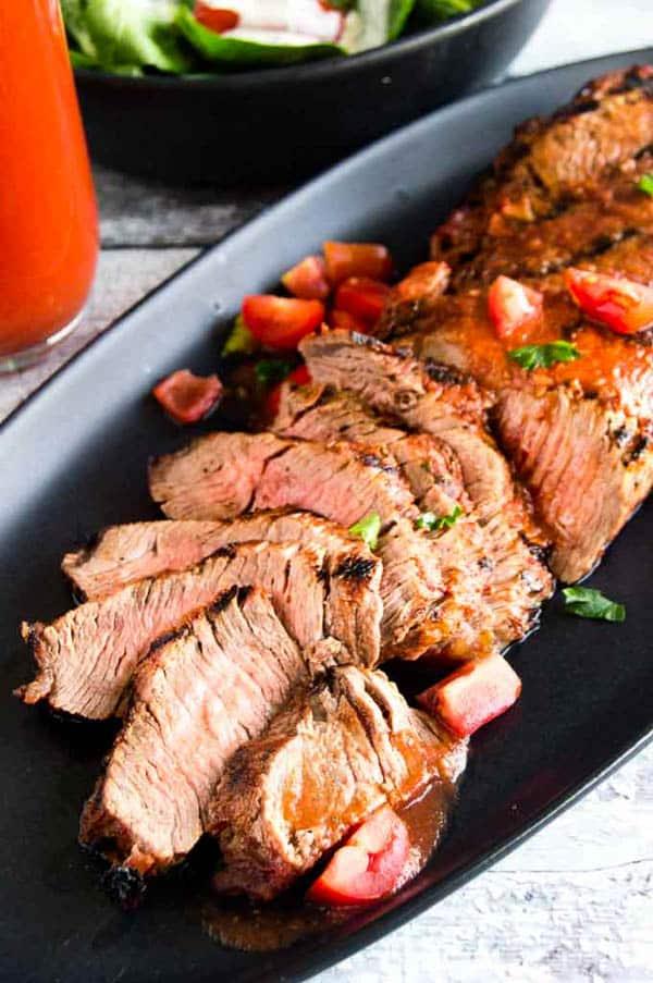 Bloody Mary Flank Steak Marinade