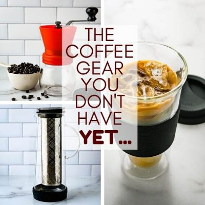 Stylish Manual Coffee Grinders & Cold Brew Coffee Makers