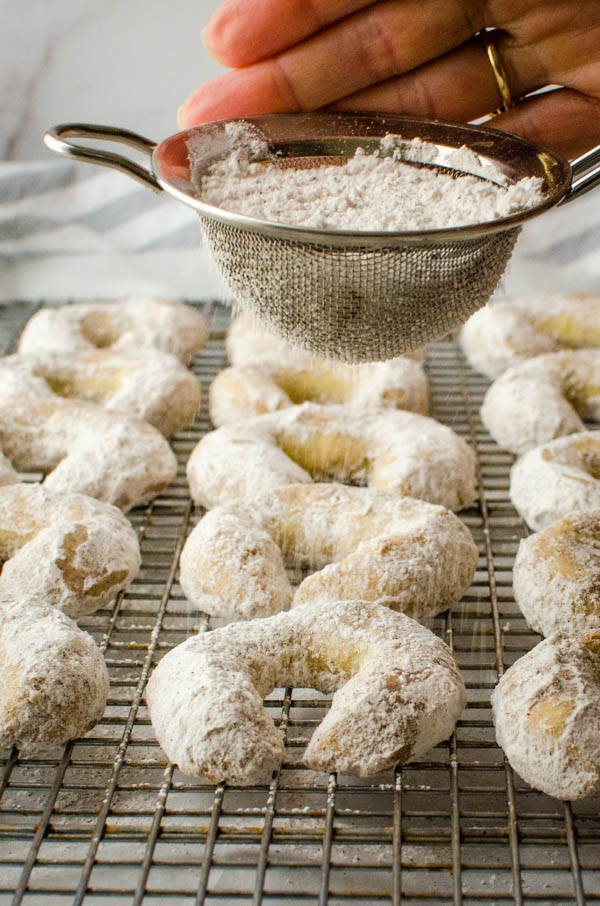 finish your holiday baking with a sprinkle of extra sugar.