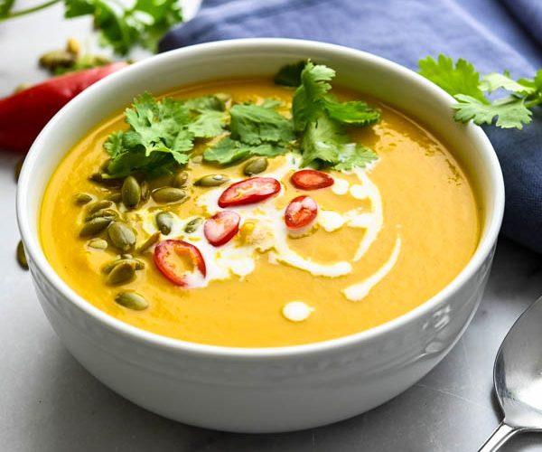 Thai Style Pumpkin Squash Soup