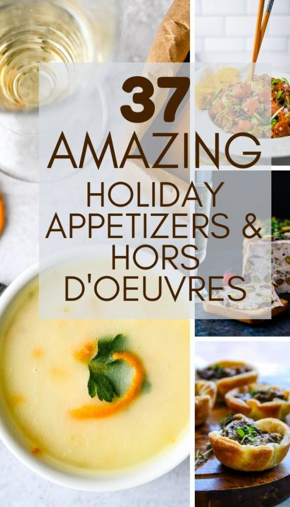 hot and cold appetizers and hors d'oeuvres