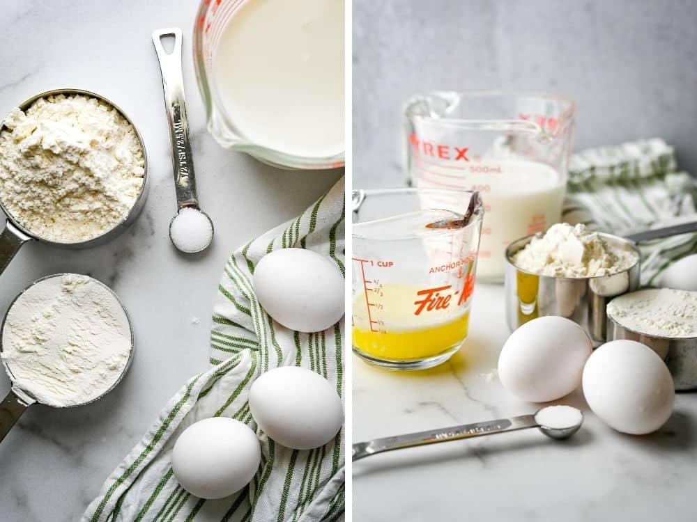 ingredients for no yeast dinner rolls