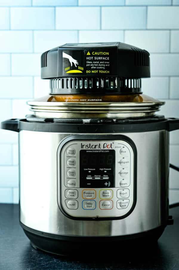 Instant pot airfryer