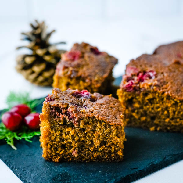 One-Bowl Homemade Gingerbread Snacking Cake