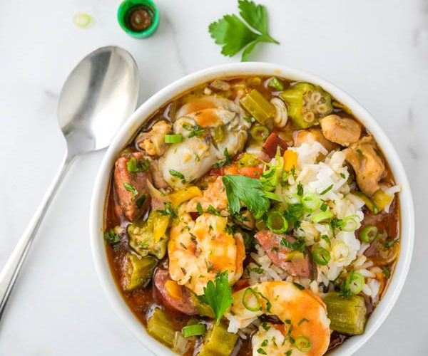 Seafood Chicken and Sausage Gumbo