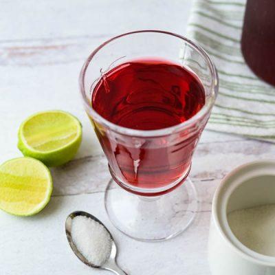 Cold Brew Hibiscus Tea Recipe