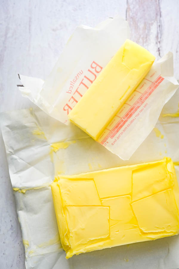 comparing Irish butter with American butter.