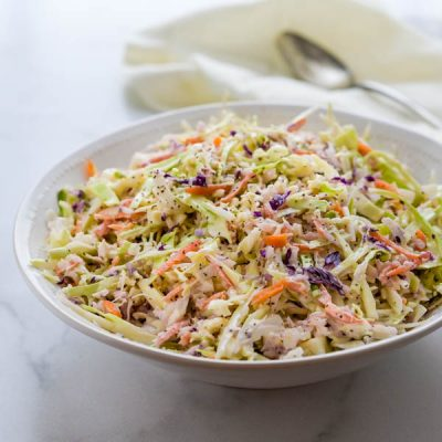 Traditional Southern Coleslaw