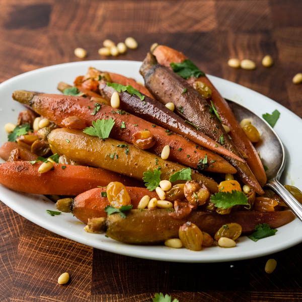 Snappy Moroccan Spiced Sous Vide Carrots Garlic Zest