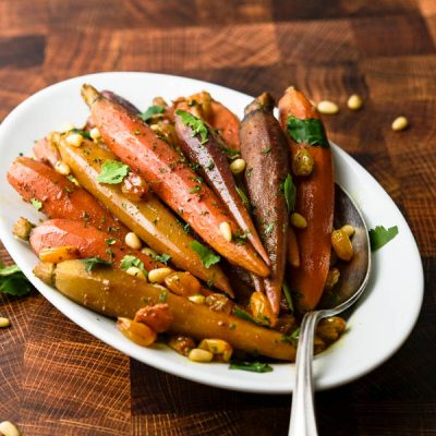 Snappy Moroccan Spiced Sous Vide Carrots